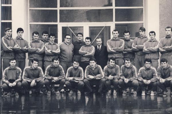 Equipe de handball de Roumanie, championne du monde 1970/©Wikicommons